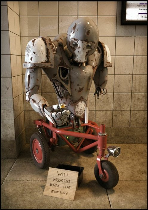 Robotic Beggar